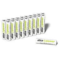 AlzaPower Super Alkaline LR03 (AAA) 20 ks v eko-boxe - Jednorázová batéria