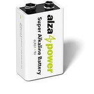 AlzaPower Super Alkaline 6LR61 (9V) 1 ks v eko-boxe - Jednorázová batéria