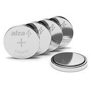 AlzaPower CR2032 5 ks - Gombíková batéria
