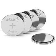 AlzaPower CR2016 5 ks - Gombíková batéria