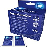 Čistiace utierky AF Screen-Clene Duo - balenie 20 + 20 ks