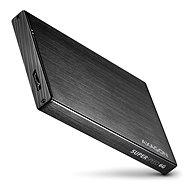 AXAGON EE25-XA6 ALINE čierny