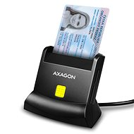 AXAGON CRE-SM2 Smart card & SD/microSD/SIM card