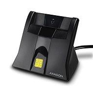 AXAGON CRE-SM4 USB Smart card StandReader - Čítačka občianskych preukazov