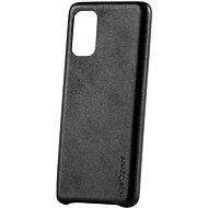 AlzaGuard Premium Leather Case for Samsung Galaxy S20+ čierny