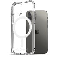 AlzaGuard Magnetic Crystal Clear Case pre iPhone 12/12 Pro