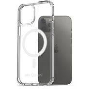 AlzaGuard Magnetic Crystal Clear Case pre iPhone 12 Pro Max