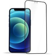AlzaGuard 2.5D FullCover Glass Protector na iPhone 12 Mini čierny - Ochranné sklo