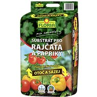 Substrát FLORIA Substrát na paradajky a papriky 40 l