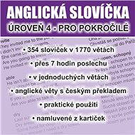 Anglická slovíčka - úroveň 4 pro pokročilé - Audiokniha MP3