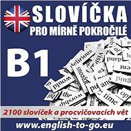 Angličtina – Slovíčka pro mírně pokročilé B1 - Audiokniha MP3