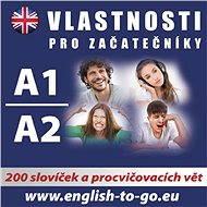 Angličtina – Vlastnosti pro začátečníky A1, A2 - Audiokniha MP3