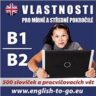 Angličtina – Vlastnosti pro pokročilejší B1_B2 - Audiokniha MP3