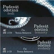 Série audioknih Pasedát odstínů za výhodnou cenu - Audiokniha MP3