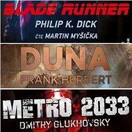 3 slavné sci-fi romány za výhodnou cenu - Audiokniha MP3