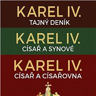 Balíček audioknih o Karlu IV. za výhodnou cenu - Josef Bernard Prokop