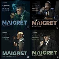 Balíček audioknih komisař Maigret za výhodnou cenu