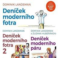 Balíček humorných audioknih Deníček moderního páru a fotra za výhodnou cenu - Audiokniha MP3