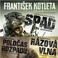 Balíček audioknih postapokalyptické série SPAD za výhodnou cenu