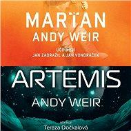 Balíček sci-fi audioknih Andyho Weira za výhodnou cenu