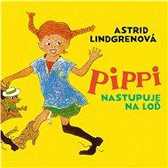 Pippi nastupuje na loď - Audiokniha MP3