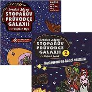 Balíček audioknih Stopařův průvodce Galaxií za výhodnou cenu
