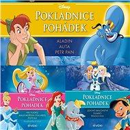 Balíček audioknih Disney - pokladnice pohádek za výhodnou cenu