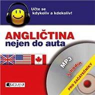 Audiokniha MP3 Angličtina nejen do auta – pro začátečníky - Audiokniha MP3