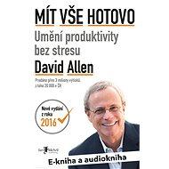 Balíček e-kniha a audiokniha Mít vše hotovo za výhodnou cenu
