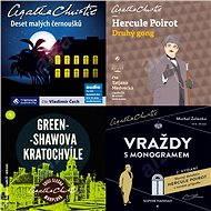 Balíček audioknih To nejlepší z Agathy Christie za výhodnou cenu - Audiokniha MP3