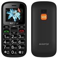 Aligator A321 Senior Grey + stolná nabíjačka - Mobilný telefón