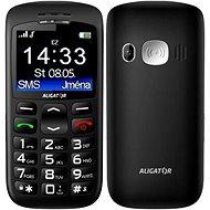 Aligator A670 Senior Black + Stolová nabíjačka - Mobilný telefón