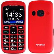 Aligator A670 Senior Red + Stolová nabíjačka