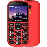 Aligator A880 GPS Senior červený + stolová nabíjačka - Mobilný telefón
