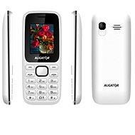 Aligator D200 Dual sim bielo-čierny - Mobilný telefón