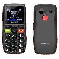 Aligator A440 Senior čierno-oranžový + Stolná nabíjačka - Mobilný telefón