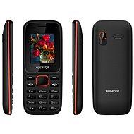 Aligator D200 Dual SIM čierno-červený - Mobilný telefón