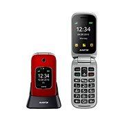 Aligator V650 červeno-strieborný - Mobilný telefón