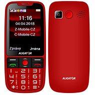 ALIGATOR A890 GPS Senior červený - Mobilný telefón