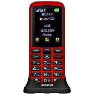 Aligator A700 Senior červený - Mobilný telefón