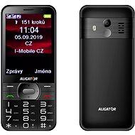 ALIGATOR A900 GPS Senior čierny - Mobilný telefón