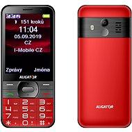 ALIGATOR A900 GPS Senior červený - Mobilný telefón