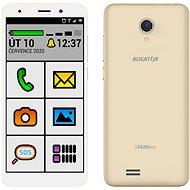Aligator S5520 Senior zlatá - Mobilný telefón