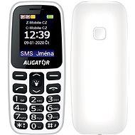 Aligator A220 Senior biely - Mobilný telefón
