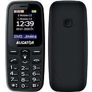 Aligator A220 Senior čierny - Mobilný telefón