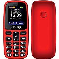 Aligator A220 Senior červený - Mobilný telefón