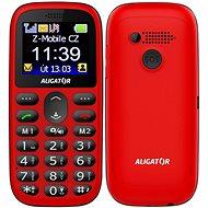 Aligator A510 Senior červený - Mobilný telefón