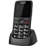 Aligator A675 Senior čierny - Mobilný telefón