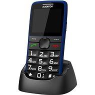 Aligator A675 Senior modrý - Mobilný telefón