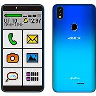Aligator S5540 SENIOR gradientný modrý - Mobilný telefón